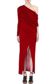 GIVENCHY Asymmetric maxi dress