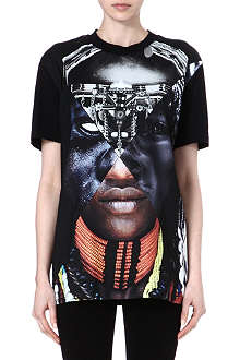 GIVENCHY Patchwork Portrait t-shirt