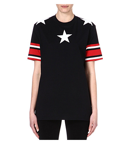 GIVENCHY Stars and Stripes t-shirt (Black