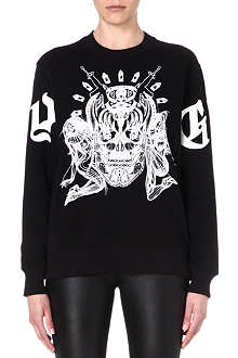 GIVENCHY Elmerinda cotton sweatshirt