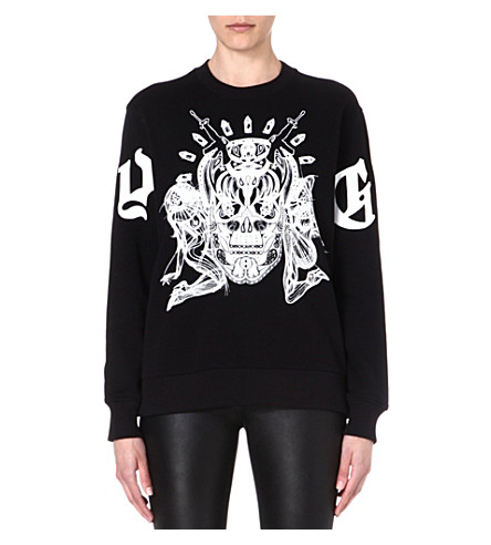 GIVENCHY Elmerinda cotton sweatshirt (Black