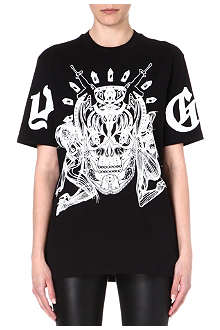 GIVENCHY Elmerinda cotton t-shirt