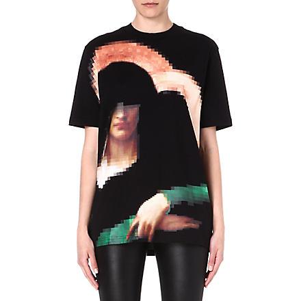GIVENCHY Madonna cotton t-shirt (Black
