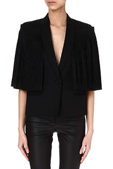 GIVENCHY Pleated-sleeve jacket