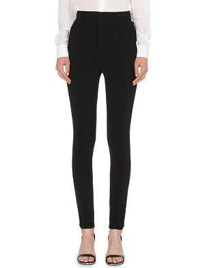 GIVENCHY Cady skinny stretch-crepe trousers