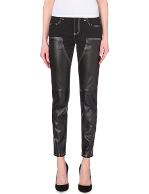 GIVENCHY Tapered mid-rise jeans