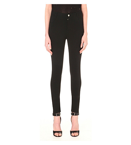 GIVENCHY Skinny mid-rise leggings (Black