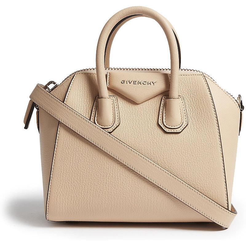 Antigona mini leather cross-body bag