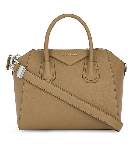 GIVENCHY Antigona small leather tote (Medium+beige