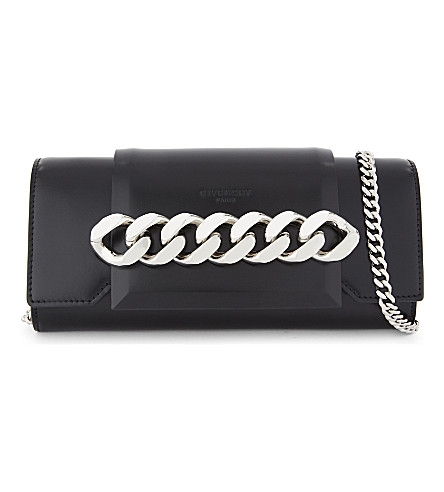 GIVENCHY Infinity small flap bag (Black