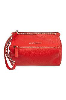 GIVENCHY Pandora leather wristlet pouch