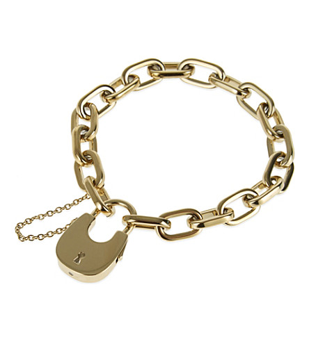 GIVENCHY Chainlink cross bracelet (Gold