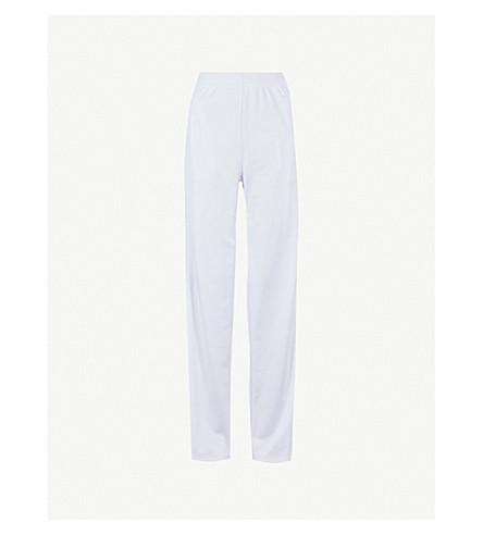 GIVENCHY Side-stripe jersey jogging bottoms (White