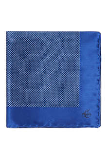 CANALI Geometric pocket square