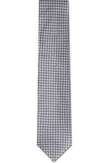 CANALI Retro print tie and pocket square set