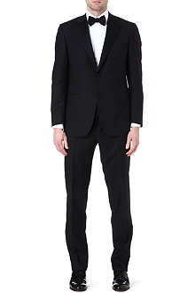 CANALI Wool and mohair-blend suit