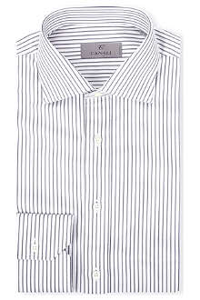 CANALI Striped regular-fit shirt