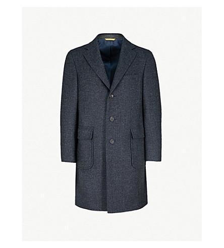 CANALI Kei-fit wool coat (Navy