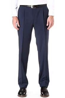 CANALI Regular-fit wool trousers