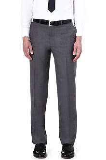 CANALI Straight wool trousers