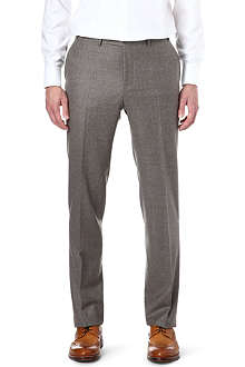 CANALI Flannel wool trousers