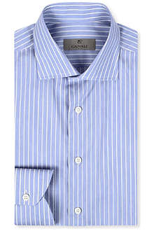 CANALI Modern-fit stripe shirt