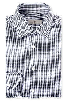 CANALI Mini dogtooth modern-fit shirt