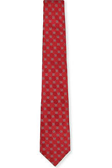 CANALI Flower diamond tie