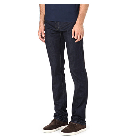 CANALI Regular-fit straight jeans (Rinse