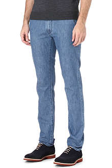 CANALI Slim-fit tapered jeans