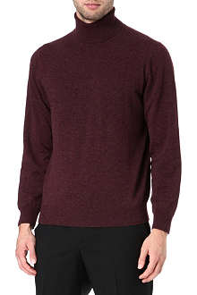 CANALI Cashmere roll-neck jumper