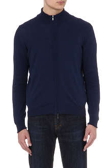 CANALI Two-layer knitted jacket