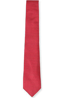 CANALI Dot and diamond tie
