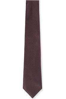 CANALI Herringbone striped tie