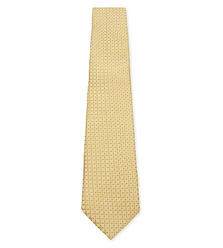 CANALI Ca multi spot tie (Gold