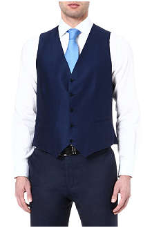CANALI Wool and cotton waistcoat