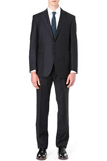 CANALI Single-breasted lightweight wool suit