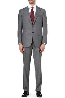 CANALI Houndstooth single-breasted suit
