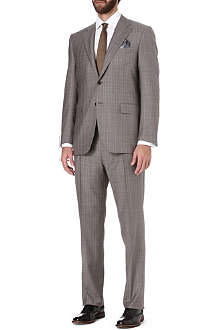 CANALI Prince of Wales check suit