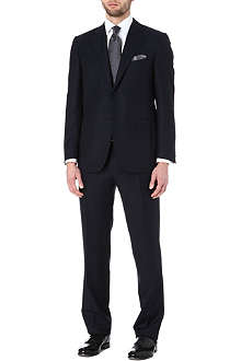 CANALI Dogtooth two-piece wool suit