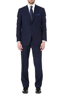 CANALI Single-breasted pinstripe suit
