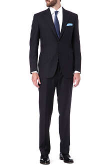 CANALI Herringbone single-breasted suit