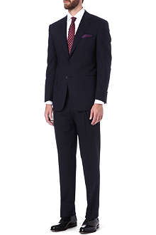 CANALI Single-breasted wool-blend suit