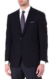 CANALI Wool single-breasted blazer