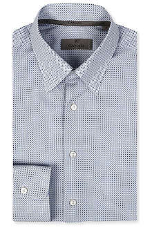 CANALI Geometric cotton shirt