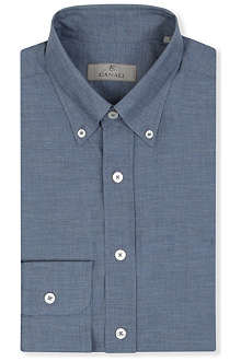 CANALI Modern-fit single-cuff shirt