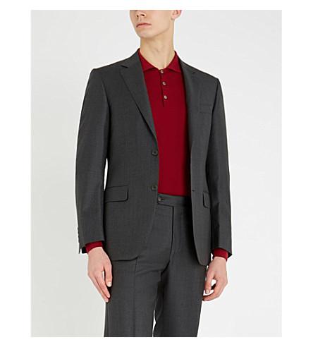 CANALI 针织棉马球衫 (红