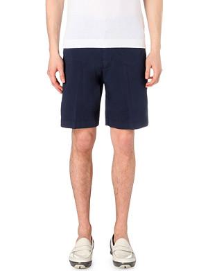 CANALI Stretch-cotton chino shorts