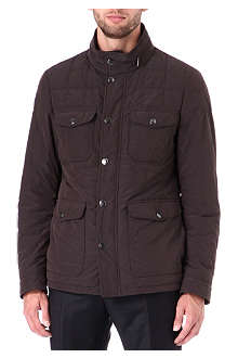 CANALI Quilted four-pocket jacket