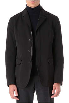 CANALI Quilted zip-up blazer